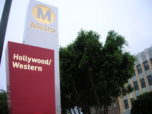 The Metro Red Line Hollywood/Western Station is the gateway to Thai Town.