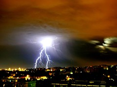 Thunderstorm in Rome - July 2006 by Surfcanarias