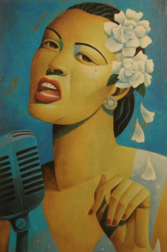 Billie Holiday by Toronto artist Jody Hewgill (www.jodyhewgill.com)
