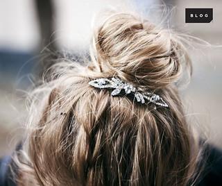 Acessórios de cabelo são um dos nossos truques de styling preferidos