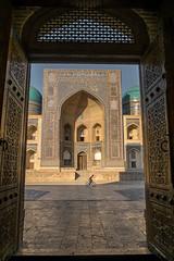 Portal. Kalon mosque