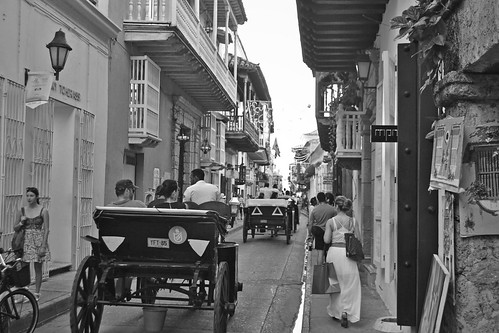 The old cars (Cartagena - Colombia)