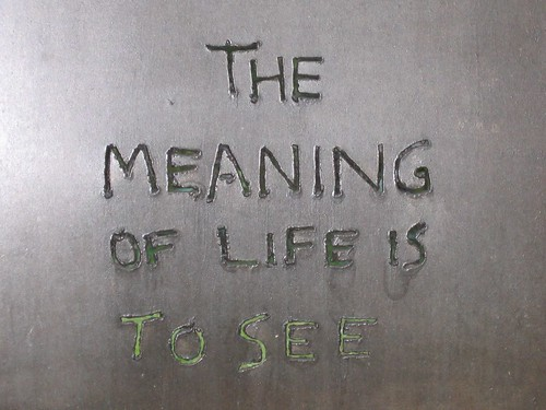 Sculpture - Frederick Franck  Quote - Hui-neng