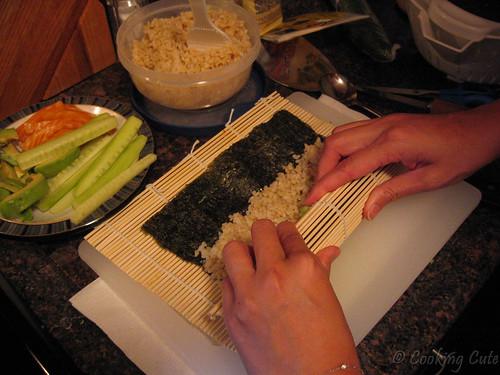 Making sucessful sushi!