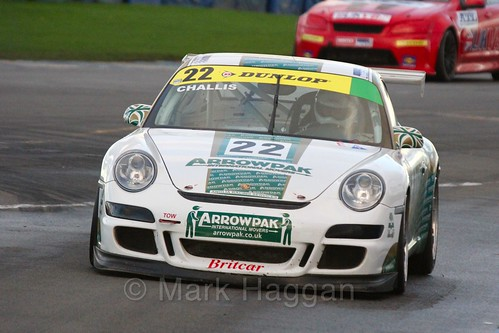 The Arrowpak Porsche 997 of Peter Challis in Endurance Racing during the BRSCC Winter Raceday, Donington, 7th November 2015