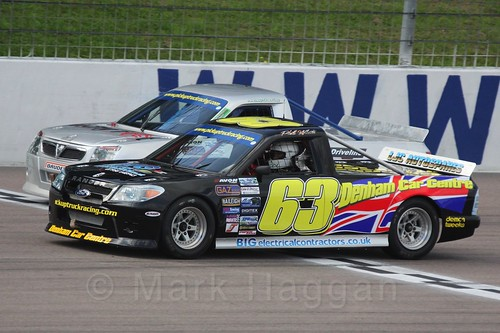 Phil White in Pick Up Truck Racing, Rockingham, Sept 2015