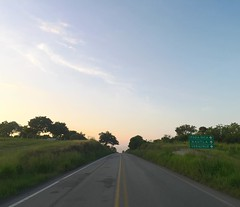 The Road Ahead. Day 192. Not much shoulder for the next week so it'll be slightly more stressful walking. The land has become really verdant all of a sudden too. Also, sun rising at 6 and setting at 6, time to get to it. #TheWorldWalk #mexico #travel #wwt