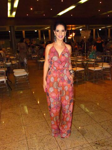 Bruna Espósito produziu o desfile e vestiu Premier