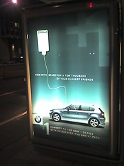 BMW + iPod ad