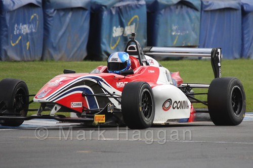 HHC Motorsport's Will Palmer in BRDC F4 at Donington Park, September 2015
