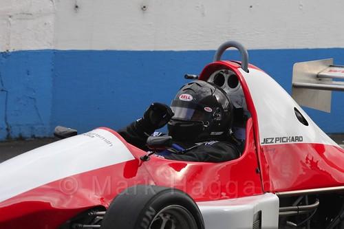 Jeremy Pickard in Formula Jedi at Donington, September 2015