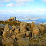 Top of Mt wellington, Hobart