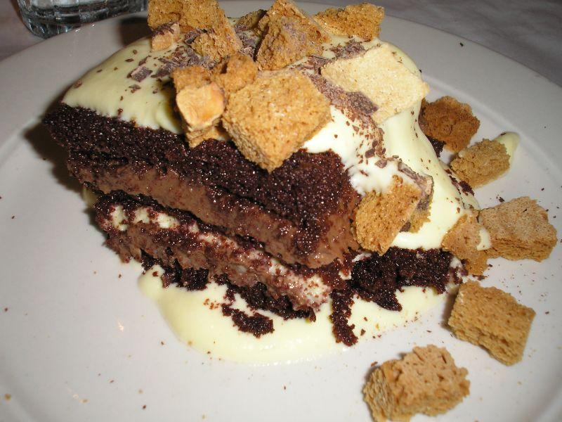 Tiramisu al cioccolato