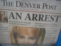 JonBenet, Front Page News