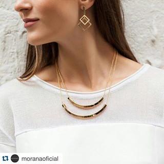 A delicadeza das peças Morana vai finalizar seu visual com chave de ouro.