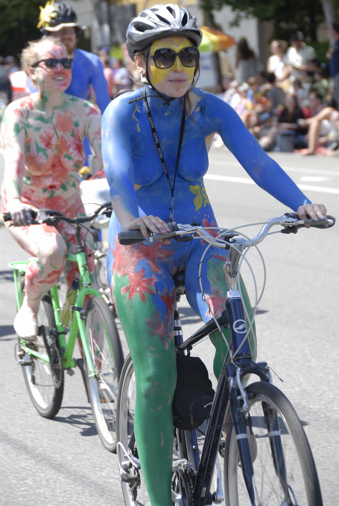fremont solstice parade painted ladies