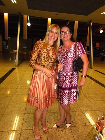Glória Cavaglieri e Ana Maria Bonfim Torquetti