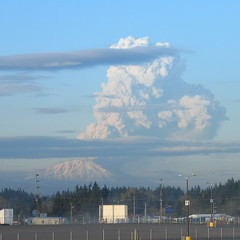 Mt. St. Helen's Eruption 2005