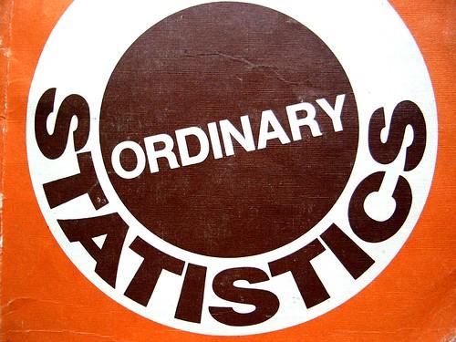 Ordinary Statistics by JamieThompson, on Flickr