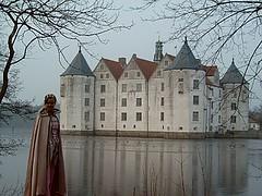 Schloss Glücksburg mit Prinzessin