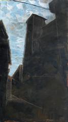 Anagni , olio su carta, 2012
