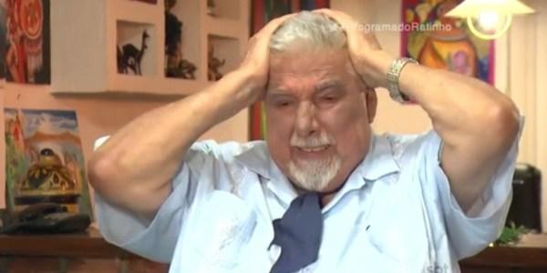 """Professor Girafales chora ao falar de Roberto Bolaños: """"Ele era meu irmão"""""""