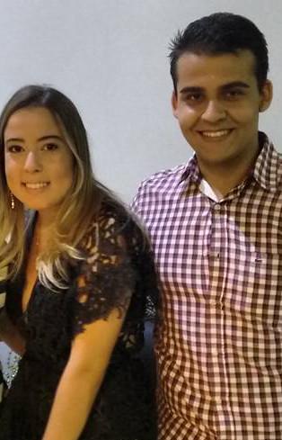 Malu Silveira e Gabriel Ramalho