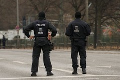 Police during OSCE conference