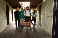 Thru hiker and trail angel Chad and his girlfriend Bridget.