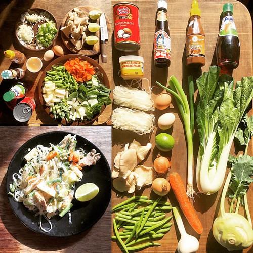 #HackThai  #thaifood #foodporn @ Hackerstreet #0711 #Stuttgart