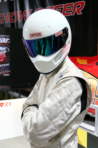 The Stig looking serious