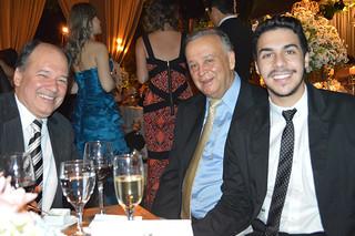 Paulo Roerto Torquetti, Carlos Domingues e Carlinhos Souza Domingues