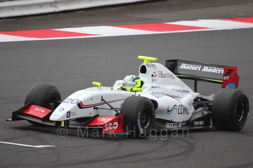 Bruno Bonifacio in the Formula Renault 3.5 Saturday Race at Silverstone