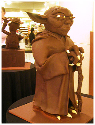 Tafe Chocolate Sculptures - Yoda