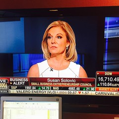 On air at @foxbusiness with Neil Cavuto. @teamcavuto