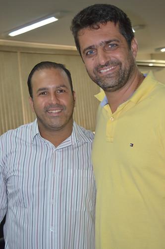 Gustavo de Souza e Hélcio Martins