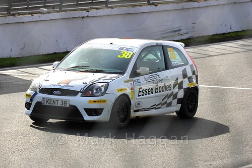 Lewis Kent in the Fiesta Junior Championship, Brands Hatch, 2015