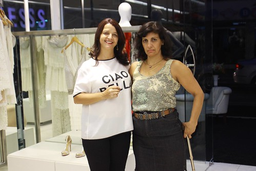 Adriana Gomes e Bibiane Pontes