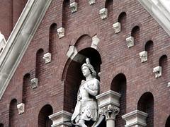 Peregrine Perching on St. Michael
