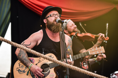 Rusty Spurs Stage at Boomtown Fair 2016