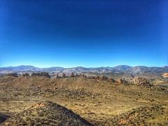 That's Longs Peak in the background.