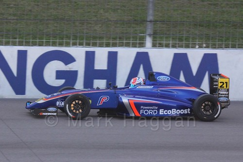 Petru Florescu in MSA Formula at Rockingham, September 2015