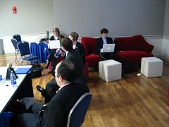 Wi-Fi hotspot @ Politics Online Conference