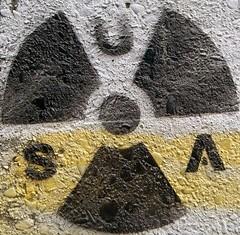 USA nuclear (weapons) graffiti