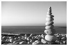 "L'île Grande...""stone stacking"""