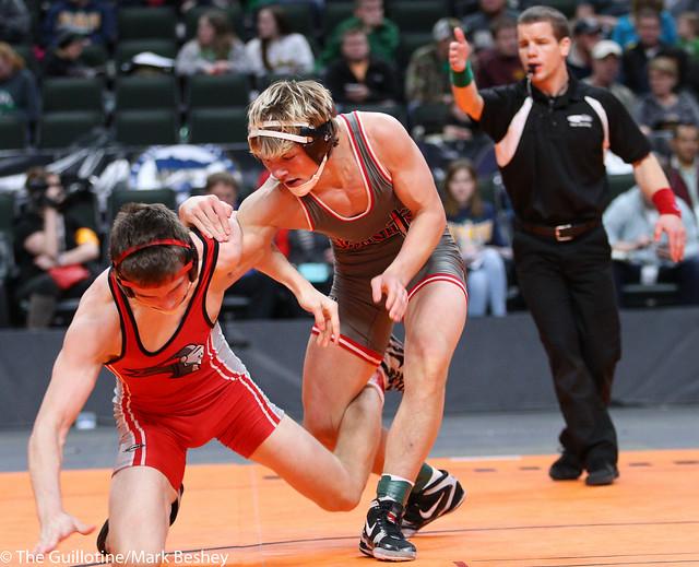 152A - 1st Place Match - Tyler Ryan (Kenyon-Wanamingo) 39-3 won by decision over Keaton Long (West Central Area-Ashby-Brandon-Evansville) 42-3 (Dec 10-6)