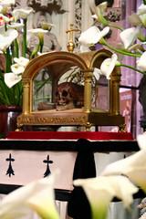 Châsse de Saint-Yves Hélory de Kermartin dans la Cathédrale de Tréguier