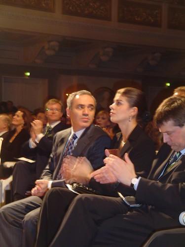 Gary Kasparow Berlin Germany von Ihnen.