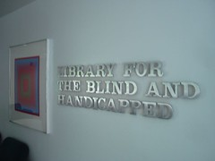 Library for the Blind adn Handicapped NJ