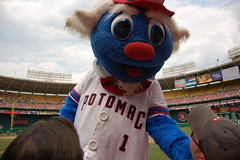 Potomac Nationals Mascot Uncle Slam